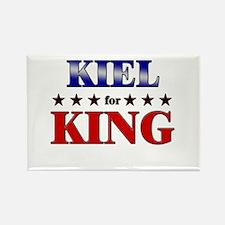 KIEL for king Rectangle Magnet