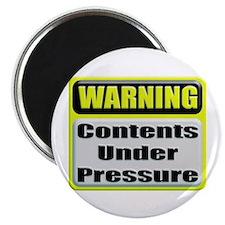 Contents Under Pressure Magnet