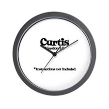 Curtis - Version 1.0 Wall Clock