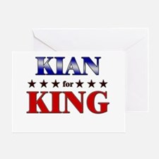 KIAN for king Greeting Card