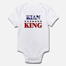 KIAN for king Infant Bodysuit