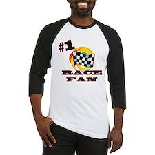#1 Race Fan Baseball Jersey