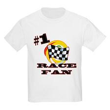 #1 Race Fan T-Shirt