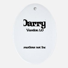 Darryl - Version 1.0 Oval Ornament