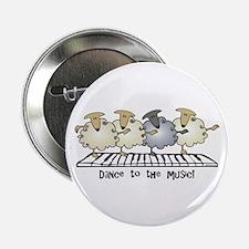 "Sheep Chorus Line 2.25"" Button"