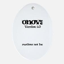 Donovan - Version 1.0 Oval Ornament