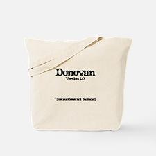 Donovan - Version 1.0 Tote Bag