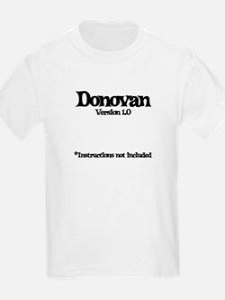 Donovan - Version 1.0 T-Shirt