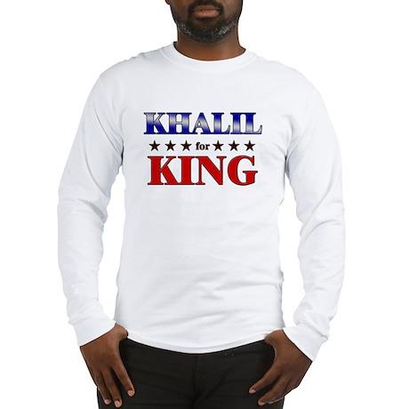 KHALIL for king Long Sleeve T-Shirt