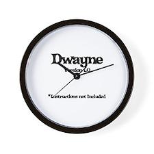 Dwayne - Version 1.0 Wall Clock
