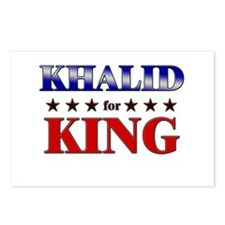 KHALID for king Postcards (Package of 8)