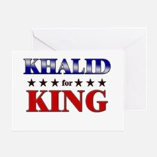 KHALID for king Greeting Card
