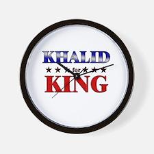 KHALID for king Wall Clock