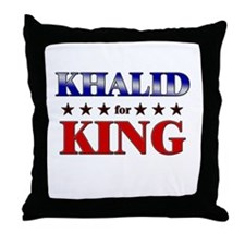 KHALID for king Throw Pillow