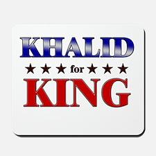 KHALID for king Mousepad