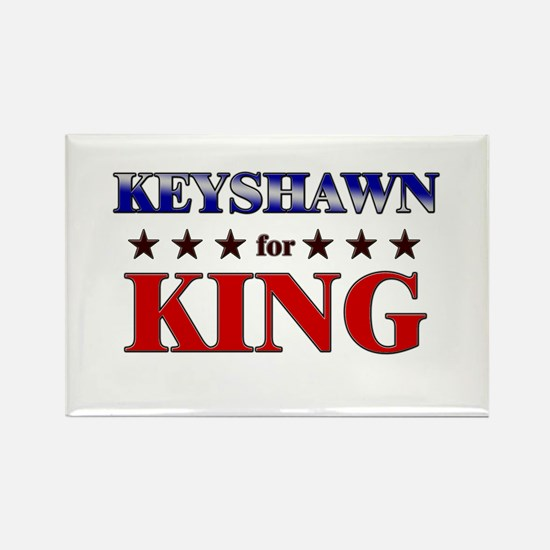 KEYSHAWN for king Rectangle Magnet