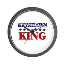 KEYSHAWN for king Wall Clock