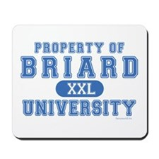 Briard University Mousepad