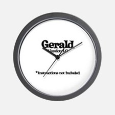 Gerald - Version 1.0 Wall Clock