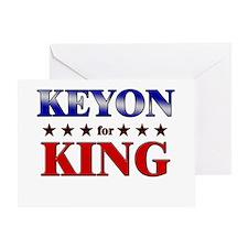 KEYON for king Greeting Card