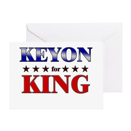 KEYON for king Greeting Card