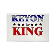 KEYON for king Rectangle Magnet