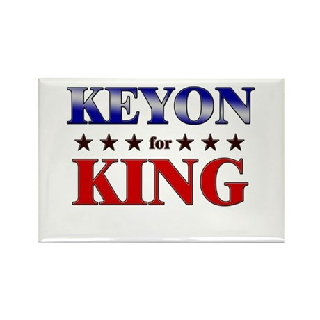KEYON for king Rectangle Magnet