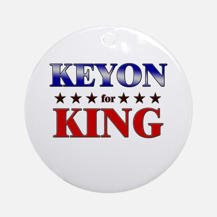 KEYON for king Ornament (Round)