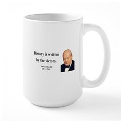 Winston Churchill 4 Large Mug