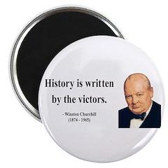 """Winston Churchill 4 2.25"""" Magnet (10 pack)"""