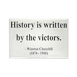 Winston Churchill 4 Rectangle Magnet (10 pack)
