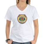 Des Moines PD E.O.D. Women's V-Neck T-Shirt