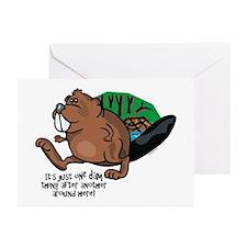 Dam Thing Greeting Cards (Pk of 10)
