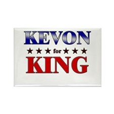 KEVON for king Rectangle Magnet
