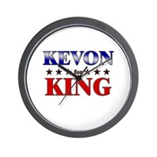KEVON for king Wall Clock