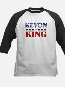 KEVON for king Kids Baseball Jersey