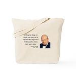 Winston Churchill 5 Tote Bag
