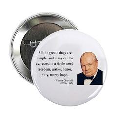 "Winston Churchill 5 2.25"" Button (100 pack)"