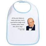 Winston Churchill 5 Bib