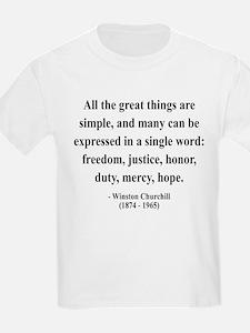 Winston Churchill 5 T-Shirt