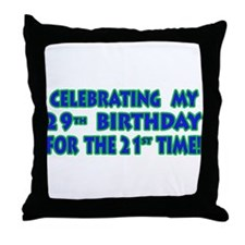 Funny 50th Birthday Cards & G Throw Pillow