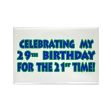 Funny 50th Birthday Cards & G Rectangle Magnet