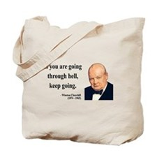 Winston Churchill 6 Tote Bag
