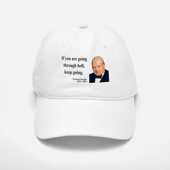 Winston Churchill 6 Baseball Baseball Cap
