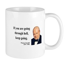 Winston Churchill 6 Small Mug