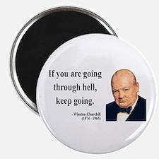 Winston Churchill 6 Magnet