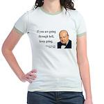 Winston Churchill 6 Jr. Ringer T-Shirt