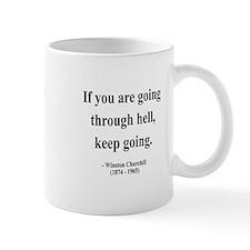 Winston Churchill 6 Small Mug