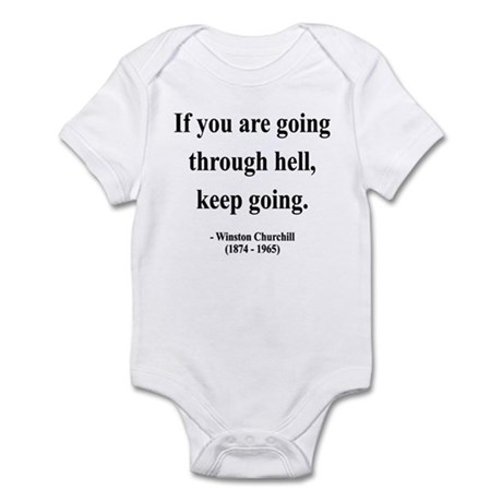 Winston Churchill 6 Infant Bodysuit
