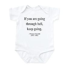 Winston Churchill 6 Infant Bodysuit